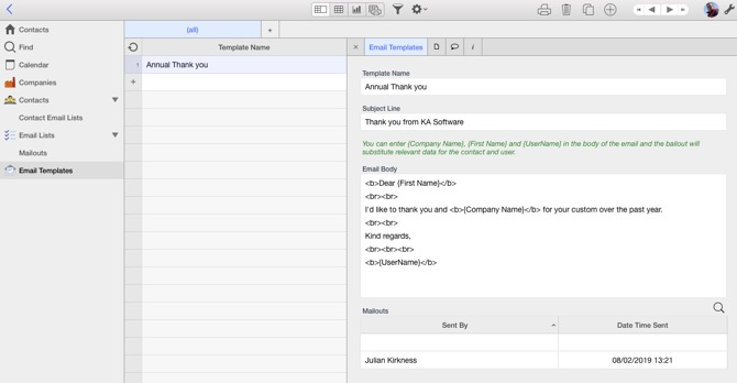 Sending Bulk Emails in Ninox   Learn more about Cloud Databases