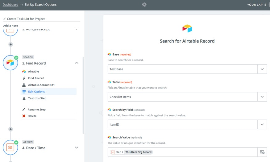 Creating Checklists with Airtable and Zapier | Learn more about
